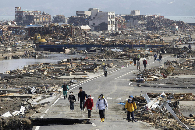 Japan Earthquake and Tsunami Damage